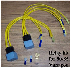 Vanagon Headlight Relays Why How