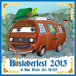 Schultzy the Bustoberfest Beer Barrel Bus