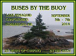 [b]Buses by the Buoy 2014