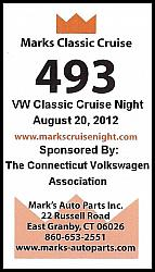 Mark's VW Classic Cruise Night