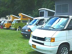 Two Eurovans - One a first-time attendee from Rochester